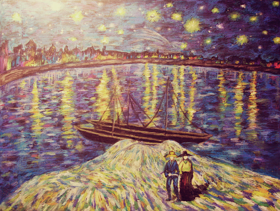 Starry Night Over the Rhone [STUDY]